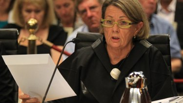 ICAC chief Megan Latham has argued against a three commissioner model.