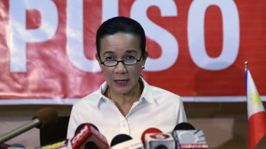 Presidential candidate Grace Poe has conceded defeat.