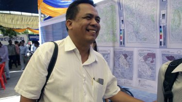 Kem Ley spoke out on issues ranging from official corruption to the importance of education.