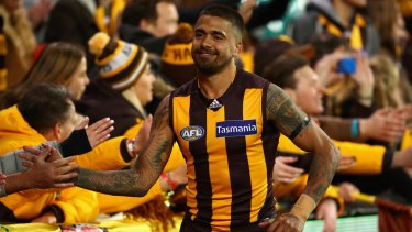 Hawthorn's Bradley Hill is another WA product snapped up by Freo.