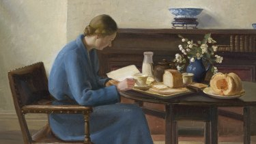 Nora Heysen's London Breakfast (1935), detail.