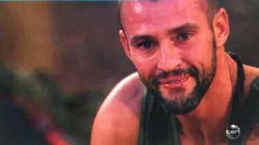 Kris Smith's teary message to his son, which has driven him to stay on I'm A Celebrity.