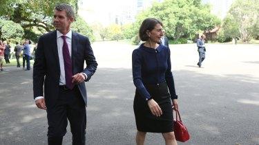 NSW Premier Mike Baird and Treasurer Gladys Berejiklian.