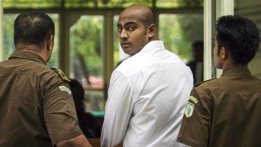 Myuran Sukumaran: condemned to death.