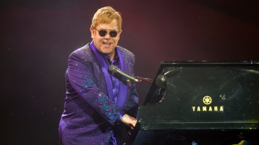 Elton John's representative strenuously denied a claim he would play at Trump's inauguration.