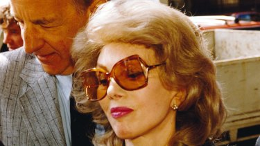 Anne Hamilton-Byrne at the  Melbourne County Court in November 1993.