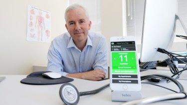 Dr James Freeman is helping hepatitis C sufferers.