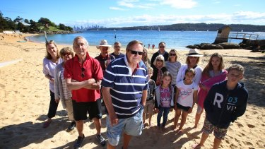 Locals are taking a stand against redeveloping old government buildings at Watsons Bay.