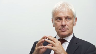 Matthias Mueller, chief executive officer of Porsche AG, may replace 68-year-old Winterkorn as Volkswagen AG CEO, according to one media report.