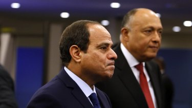 Egyptian President Abdel Fattah al-Sisi  has vowed that those responsible for offences against Soad Thabet will be brought to justice.