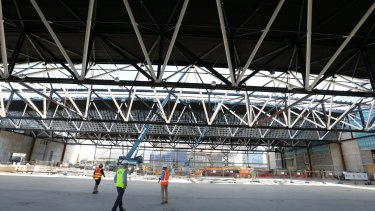 The roof is 102 metres long.