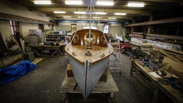 The boat has been a labour of love for the volunteers who have worked on its restoration since 2006.