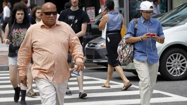 A New Jersey lawmaker is targeting distracted walking. The proposed measure would ban walking while texting and bar pedestrians on public roads from using electronic devices unless they are hands-free.
