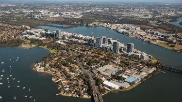 The latest census showed Rhodes is Sydney's best educated neighbourhood.