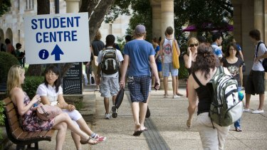 University research showed 16,000 students stayed in university accommodation already.