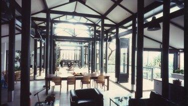 The Dunbar house on Stradbroke Island, designed by Jennifer Taylor.