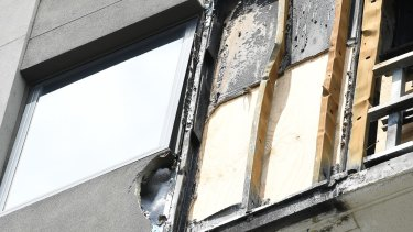 A fire caused major damage to the Brunswick building earlier this year.