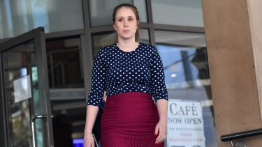 Belle Nolan, outside the Magistrate's court, said the incident had been traumatic.