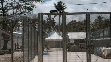The Manus Regional Processing Centre on Los Negros Island.