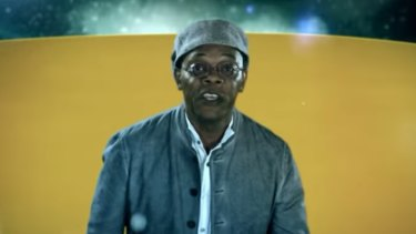 Hollywood actor Samuel L Jackson promotes Bet365 products in Australia.