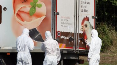 Some of the bodies in the truck found in Hungary had started to decompose, investigators said.