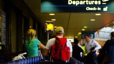 Departure: Gap years developed when travel took longer and was more expensive but today's students, who can now zip overseas for shorter periods, seem to be turning against the long break from study.