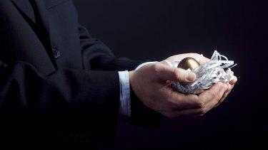 In the hand: Superannuation concessions are under pressure.