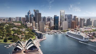 Sydney is the third preferred city, behind London and Manhattan, for commercial property investors.