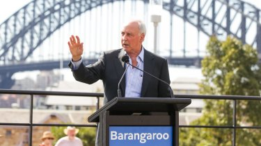 Former prime minister Paul Keating spoke of his vision for the new public space when Barangaroo Reserve opened to the general public in August.