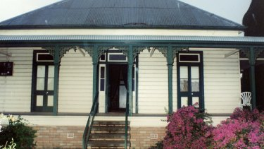 Ms Knight sold her childhood home in Cowper Street, Wee Waa, after the assault.