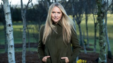 Collette Dinnigan: 'Who knows maybe in the future ... I might go back to something that involves clothing ... but right now I don't think it's where I should be.'