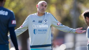 """Melbourne Victory Coach, """"It's an anti-climax and I just don't understand it,"""" Kevin Muscat unhappy at A-League schedule."""