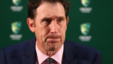 Cricket Australia chief executive James Sutherland is said to be targeting $200 million annually for a new five-year television broadcast rights deal.