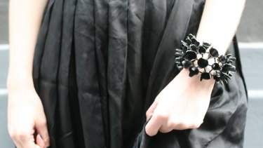 """""""Zenith cuff"""", by Emma Jane Donald, who is one of almost 60 designers represented by e.g.etal since its early days."""