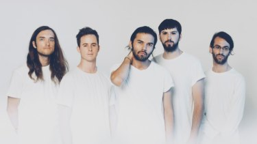 Australian metalcore band Northlane.