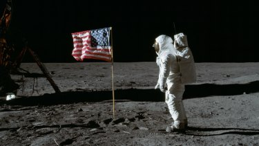 Buzz Aldrin was the second man on the moon, a fact that bothered his father.
