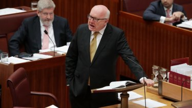 Attorney-General George Brandis says judges should not appear before parliamentary inquiries because of the separation of powers.