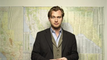 Big screen: Christopher Nolan admits to being inspired by Spielberg's early blockbusters.