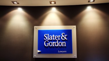 During the past two years Slater & Gordon's share price has tumbled from over $8 to 23c.