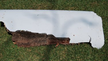 A curved piece of debris which may be part of the missing Malaysia Airlines Flight MH370, was found in Wartburg, South Africa, in March.