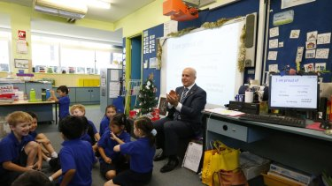NSW Education Minister Adrian Piccoli, who visited Ultimo Public School in December 2014.