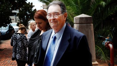 Jailed: Former Marist brother Darcy O'Sullivan, also known as Brother Dominic, in 2014.