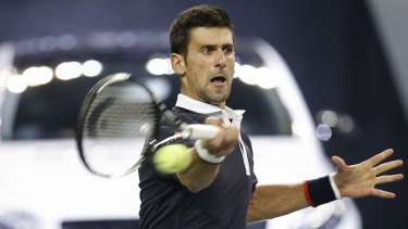 """Novak Djokovic on Nick Kyrgios: """"He needs to try to really work on it, getting mentally stronger."""""""