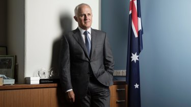 'Tony Abbott in an expensive suit': Malcolm Turnbull.