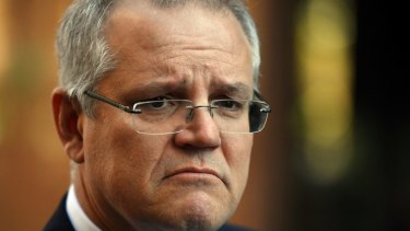 Treasurer Scott Morrison is protecting an exposed flank in the era of populism.