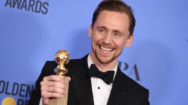 Tom Hiddleston won the award for best performance by an actor in a limited series or a motion picture made for television for <i>The Night Manager.</i>
