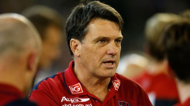 Roos said that the football department had undergone a restructure over the off-season.