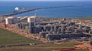 Workers at Gorgon's LNG project in WA were evacuated after a gas leak.