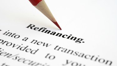 Refinancing is when a customer takes out a new loan to pay off their existing mortgage.