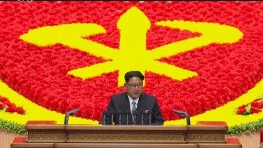Erratic: North Korean dictator Kim Jong-un.